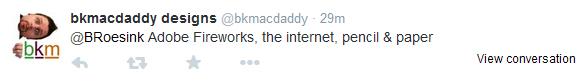 Brian McDaniel tweet