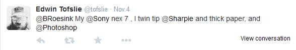 Edwin Tofslie tweet