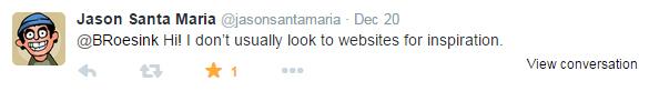 Jason Santa Maria Tweet