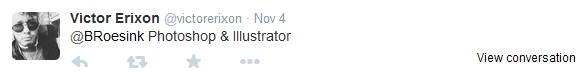 Victor Erixon tweet