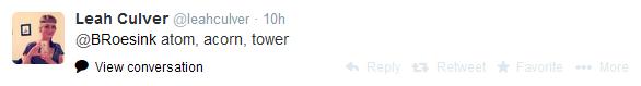 Leah Culver Tweet