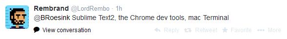 Rembrand Le Compte Tweet