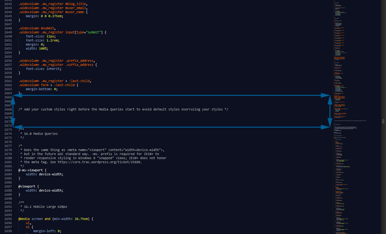 Add Custom CSS via FTP
