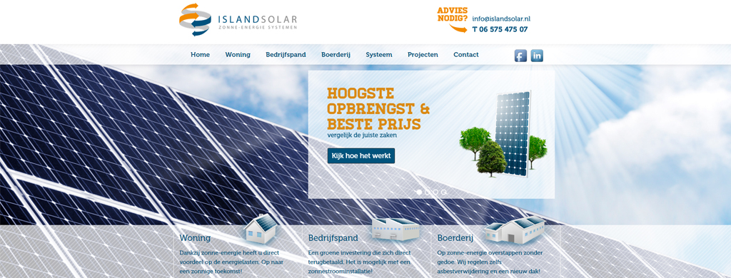 Solar energy explained via a Responsive Wordpress theme | PSDtoWP.net